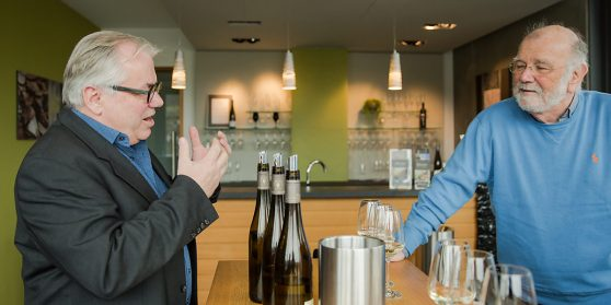 Weinprobe mit Winzer Johannes Schmitz Weingut Rebenhof