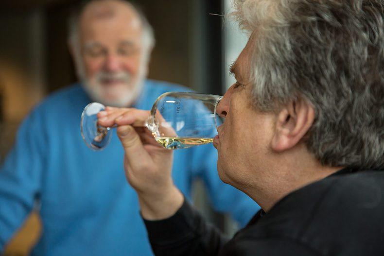 Weinprobe im Weingut Rebenhof